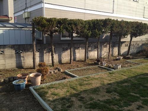庭をリガーデン施工前