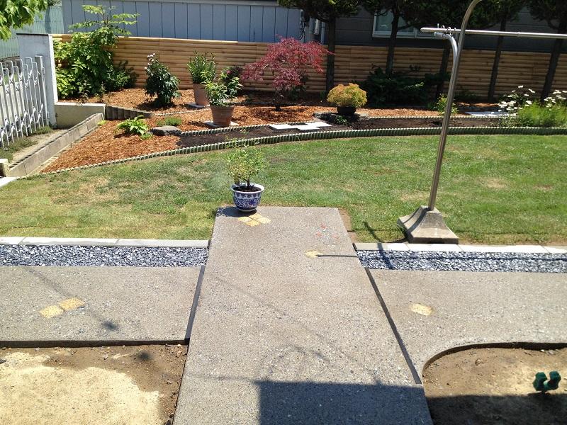 庭をリガーデン施工後3