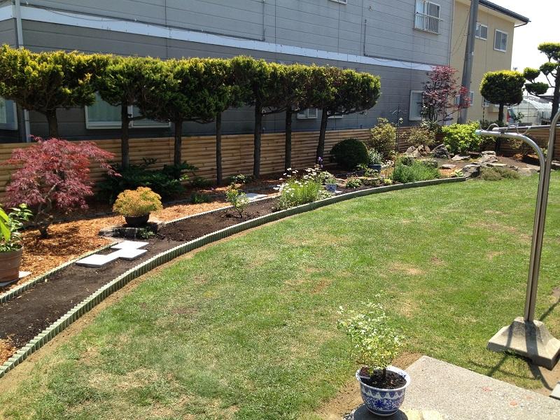 庭をリガーデン施工後