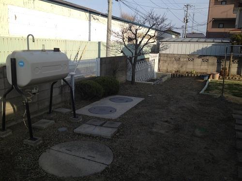 庭をリガーデン施工前2